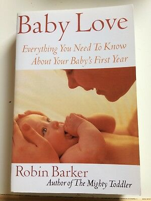 Baby Love Book By Robin Barker - Excellent Condition