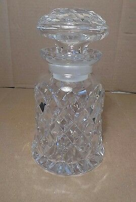Cut Glass Crystal Spirit Decanter W Stopper Whisky Gin Vodka Sherry Bottle Jug R