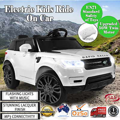 Range Rover 4WD Drive Electric Kids Ride On Car Children Remote Play Toys