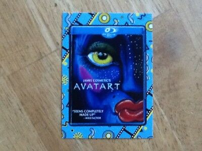 2018 Topps Wacky Packages Go To Movies Classic Film Sticker Avatart Avatar 16