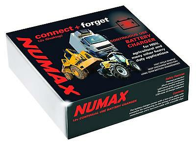 Numax Fully Automatic Intelligent  Commercial Battery Charger 24V 12A