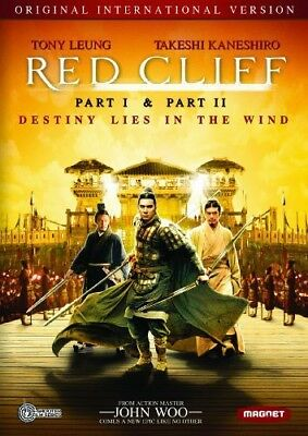Red Cliff: Parts 1 / 2 (2 Disc, International Version) DVD NEW