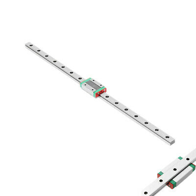 Linear Slide MGN9 MGN12 250mm~500mm Linear Rails Guide With Mini Carriage Block