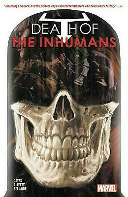 Death of the Inhumans by Donny Cates Paperback Book Free Shipping!