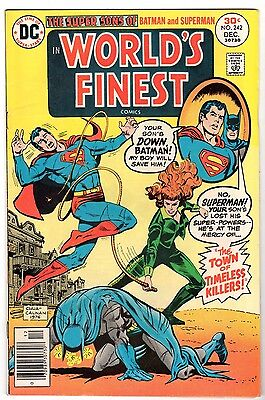 World's Finest #242 with Sons of Superman & Batman , Fine - Very Fine Condition'