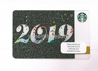 2019 Starbucks Gift Card Thailand Limited Edition Pin intact w/sleeve