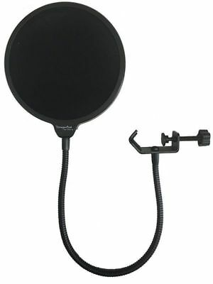 Double Layer Studio Recording Microphone Wind Screen Mask Pop Filter