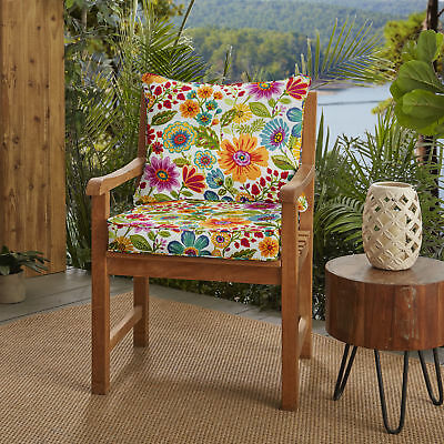 Strange Winston Porter Floral Piped Indoor Outdoor Lounge Chair Squirreltailoven Fun Painted Chair Ideas Images Squirreltailovenorg
