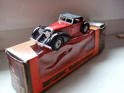 """Matchbox """"Models of Yesteryear"""" Y-17 1938 Hispano Suiza OVP"""