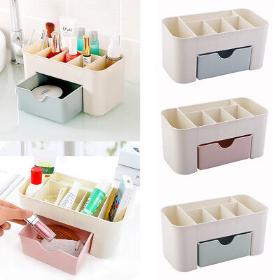 Durable Cosmetic Organizer Cases Makeup Storage Container Boxs With Drawer CHZ