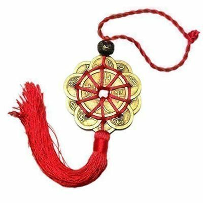 Chinese Lucky Coins Charm Feng Shui Pendant Coins for Prosperity Protection