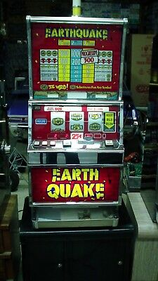 Rare Earth Quake Igt Slot Machine Works Great