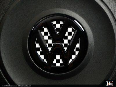 Checkered Flag VW >> Vw Front Badge Insert Checkered Flag 11 00 Picclick