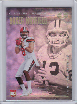 2018 Panini Illusions #2 Baker Mayfield Browns XXX010419