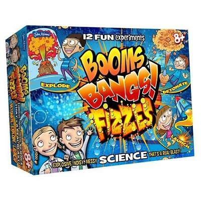 Science Kit Educational Experiment Kids Set Fun Learning Toy Booms Bangs Fizzes