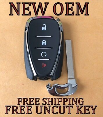 New Oem Chevrolet Smart Key Keyless Proximity Remote Fob Transmitter 13529664