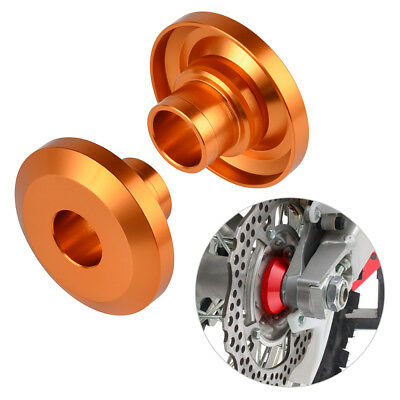 CNC Billet Rear Wheel Spacers Orange For KTM EXC TPI XCW TPI 125-530 2008-2019