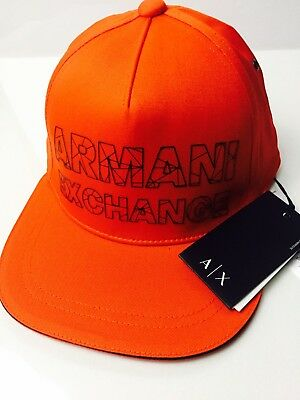 d0f45fb4771 ARMANI EXCHANGE AUTHENTIC Refracted Logo Hat Black NWT -  37.99 ...
