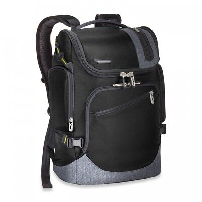 NEW Briggs & Riley Black BRX Excursion Backpack New NWT