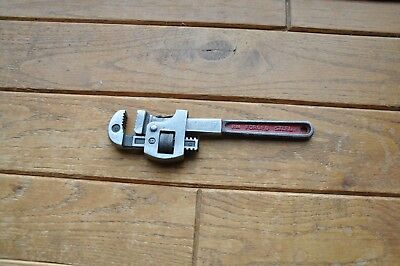 Vintage Stillson Wrench Crescent Tool Co. No. 8* Pipe Wrench