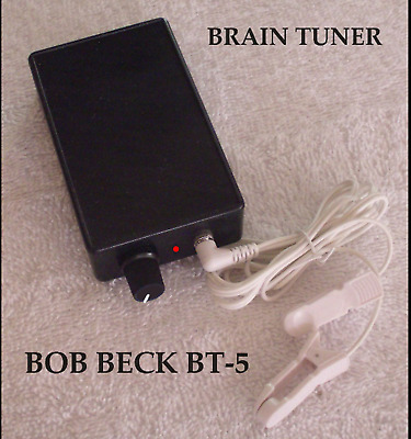 BOB BECK BRAIN TUNER BT-5  CES   BECK BOX BIO TUNER NOW WITH Low Battery LED
