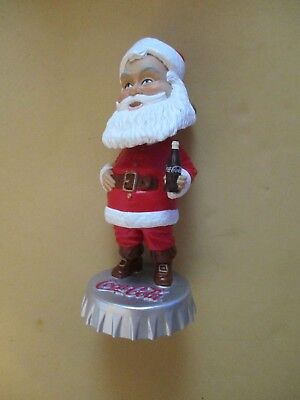 Hardee's Coca Cola Bobble Head Santa Claus- 2002