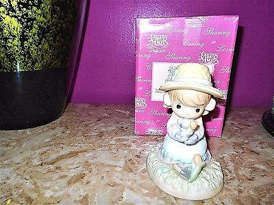 Precious Moments Lord Let Our Friendship Bloom Retired 879126 Mint **REDUCED**