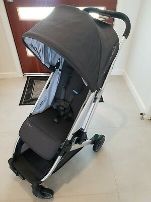 UPPAbaby MINU Compact Stroller - Jordan Charcoal Melange As New Condition