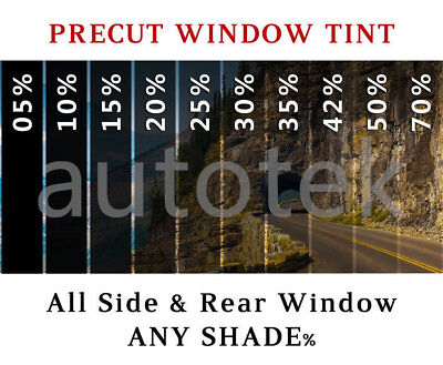 PreCut All Sides + Rear Window Film Any Tint Shade % for Ford Ranger Glass Tint