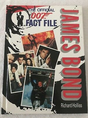 James Bond,the Official 007 Fact File Book - Excellent Condition