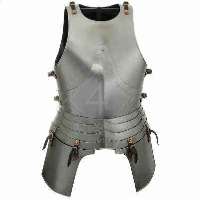 Steel Body Armour Collectible Knights Medieval Renaissance Cuirass Armor Replica