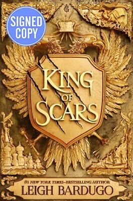 *AUTOGRAPHED/SIGNED* King of Scars by Leigh Bardugo HC - BRAND NEW! - Ships 1/28