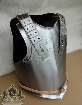 LARP Chest & Back - Guts Armor from Nautical-king - Blackened Cuirass - Steel Re