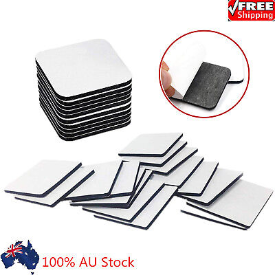 10PCS 3M Strong Double Sided Black Foam Tape Pad Mounting Rectangle Adhesive AU