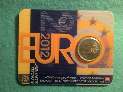 Coincard 2 Euro Slovaquie Annee 2012 - 7000 Exemplaires