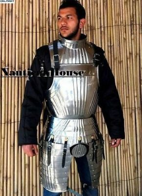 Medieval Armory Knight Half Suit of Armour Wearable Costume