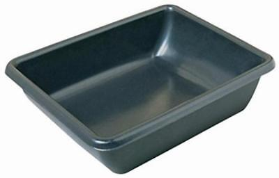 Plastic Utility Tub Box For Mixing Mortar and Cement , 26 x 20 x 6 inches