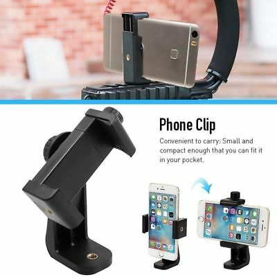 Universal Smartphone Tripod Adapter Cell Phone Holder Mount For Samsung iPhone