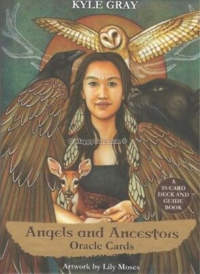 """Angels & Ancestors Oracle Cards"" By Kyle Gray (55 Oracle Cards)"