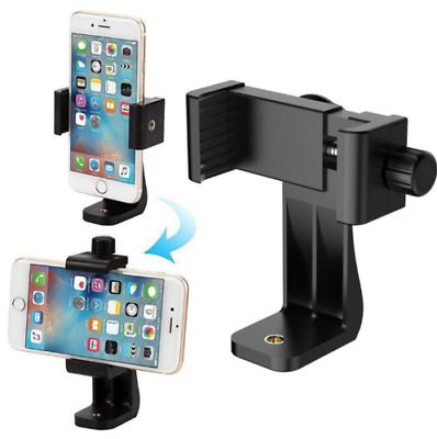 Universal Cell Phone Tripod Adapter Mount Smartphone Holder For iPhone Samsung