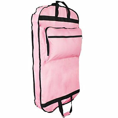 """DALIX 39"""" Garment Bag Cover for Suits and Dresses Clothing Foldable w Pockets"""