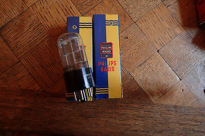 Vintage 6X5gt tube Philips usa nos  (2x)