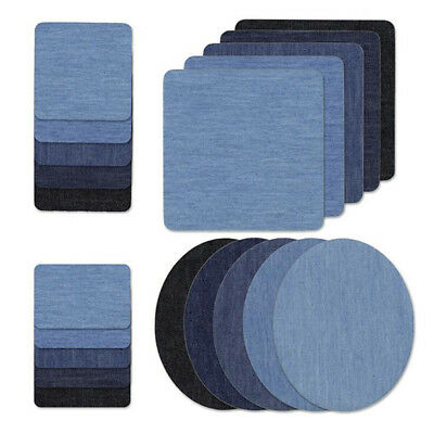 Iron on Denim Patches Fabric Patches on Cloth Repair Patches for Clothes 8C
