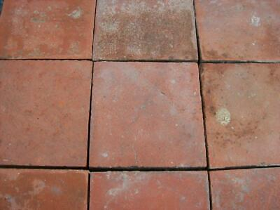 Reclaimed Red 6x6 Red Quarry Tiles