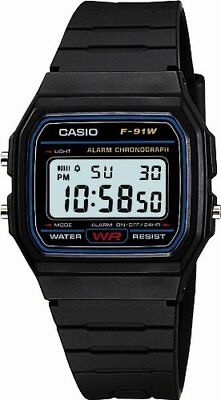 CASIO Wrist Watch F-91W-1JF JAPAN OFFICIAL IMPORT
