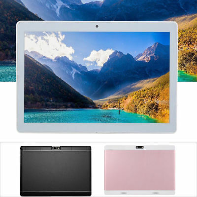 """10.1"""" Tablet PC 4GB+64GB Octa-Core Android 7.0 WIFI GPS Phone Wifi Phablet New D"""