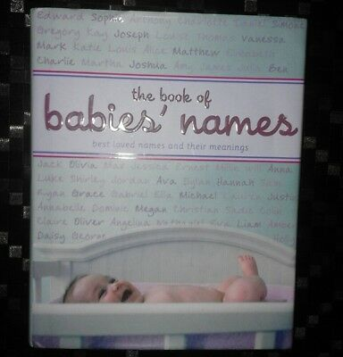 M&S The Book of Babies' Names. Noam Friedlander 2008 HB book. Name for baby.