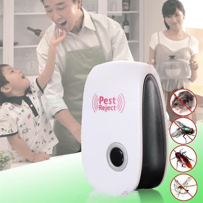 Anti Mosquito Ultrasonic Pest Reject Electronic Mice Repeller Insect Killer