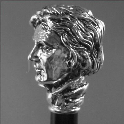 Walking Stick R-925 Silver - Beethoven - R-925 Sterling Silber Spazierstock