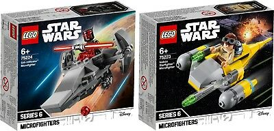 LEGO STAR WARS  75223 Sith Infiltrator Microfighter 75224 Starfighter N1/19